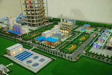 绿色煤电局部沙盘模型