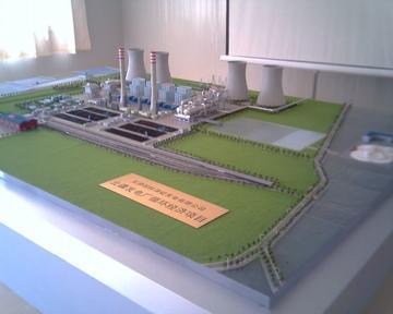 北疆发电厂模型
