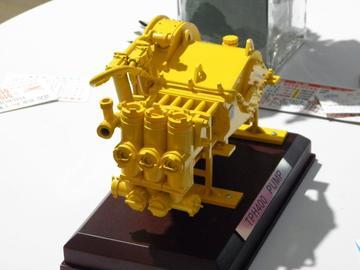 三缸泵模型