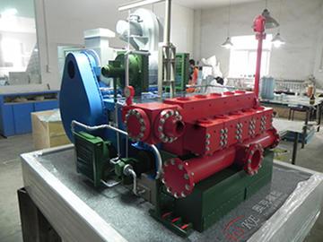 五缸泵模型