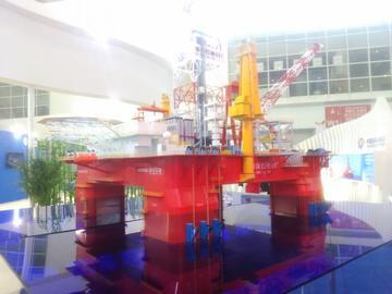 981石油平台模型
