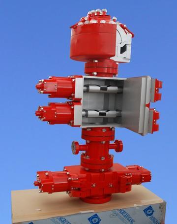 防喷器模型