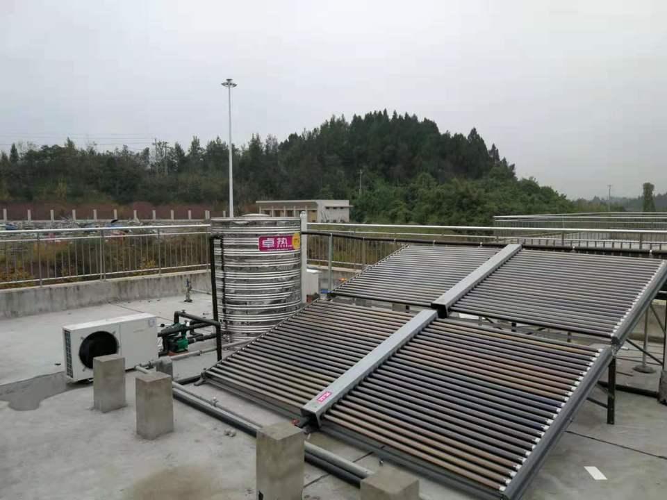 收费站太阳能热水器