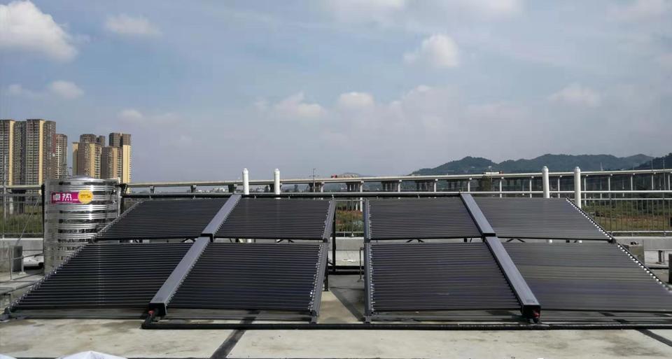 交警队太阳能热水器
