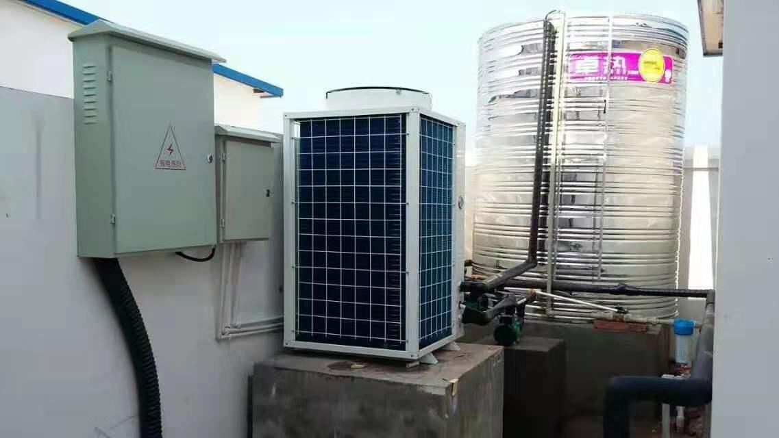 工地空气能热水器