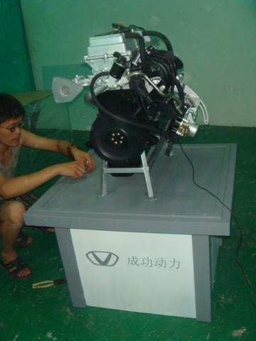 山西成功淮海发动机模型