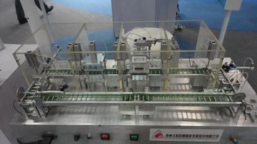 气动生产线模型