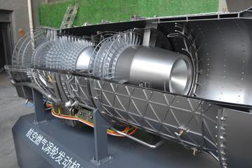 半金属航空发动机模型