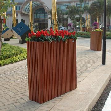防腐木景观花箱