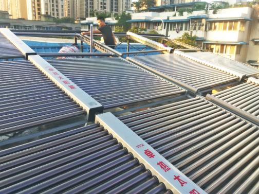 成都酒店太阳能热水工程