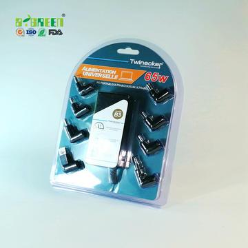 格瑞吸塑-适配器吸塑包装-纸卡吸塑搭配高端效果