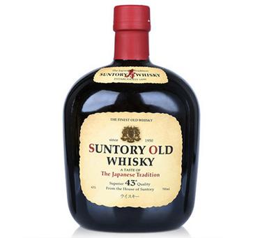 三得利老牌威士忌 日本原装进口