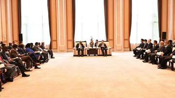 疫往情深·浙非同行:部分非洲国家驻华使节浙江行交流会在杭州举行