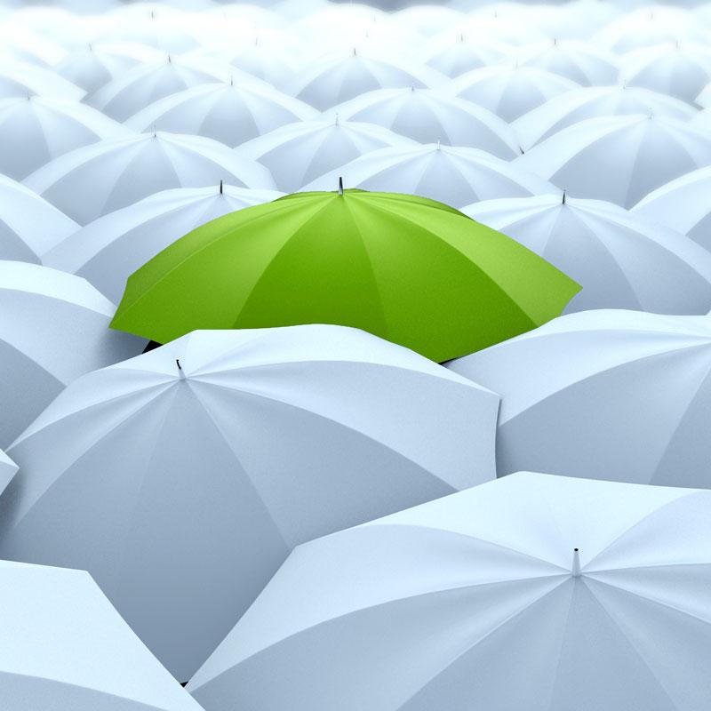 雨伞广告宣传案例