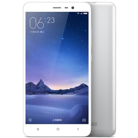 小米(MI)红米note3 4G手机 双卡双待 银白 双网通标准版(2G RAM+16G ROM)标配