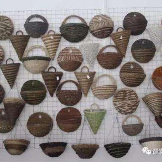 广西都安编织工艺品