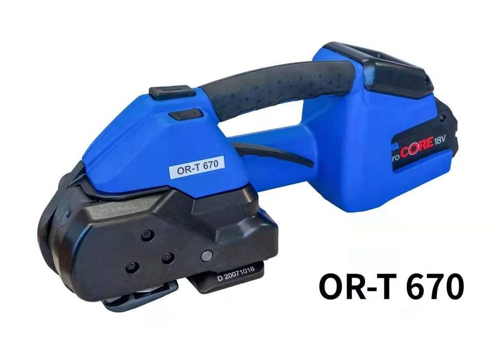 OR-T670电动塑钢带打包机