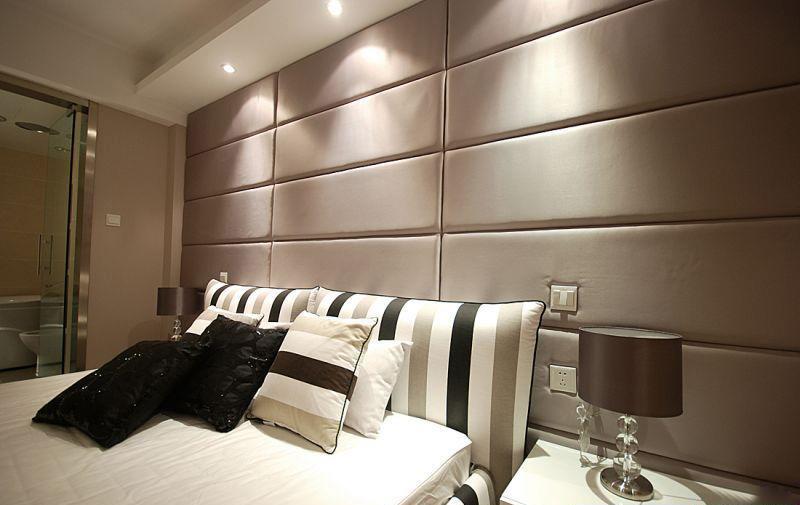 床头整墙软包案例实拍
