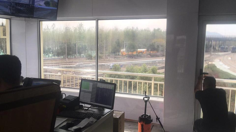 火车站调度室高清灰银膜