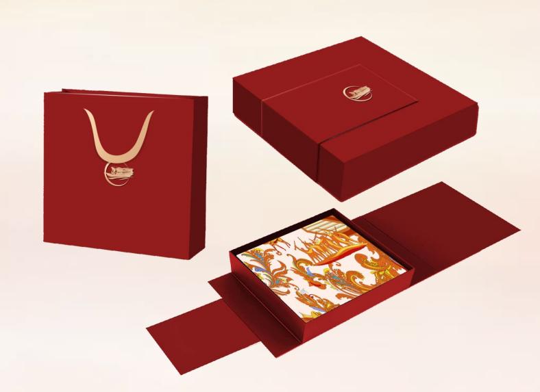丝巾、围巾包装盒