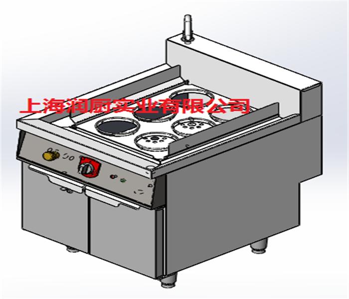 日式单缸六斗煮面炉
