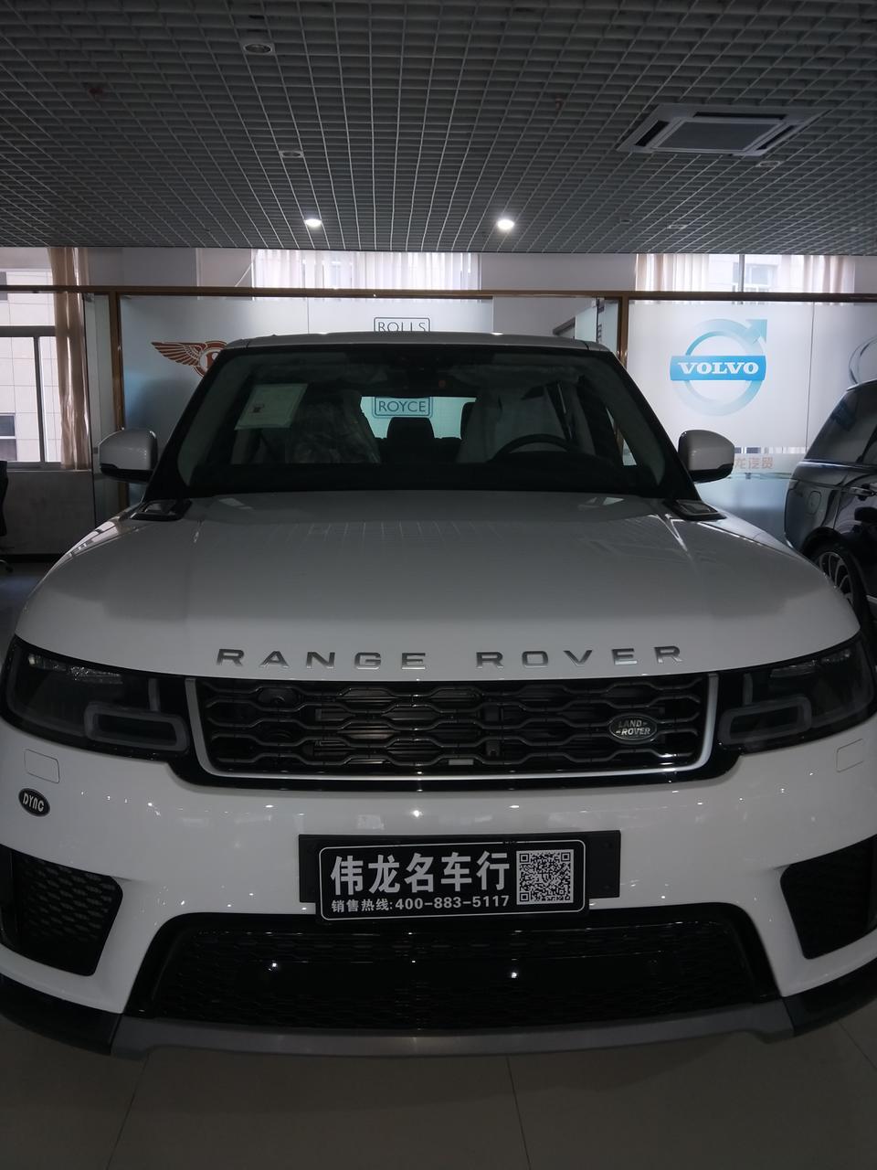 路虎揽胜运动版 – 越界动能,运动型豪华SUV