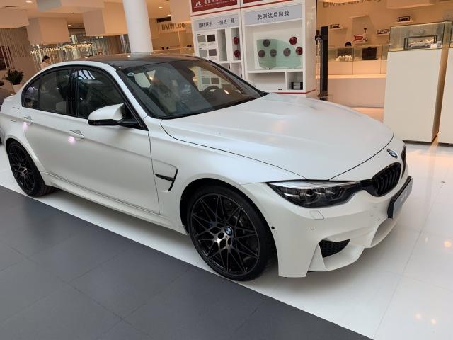 Brand new BMW M3