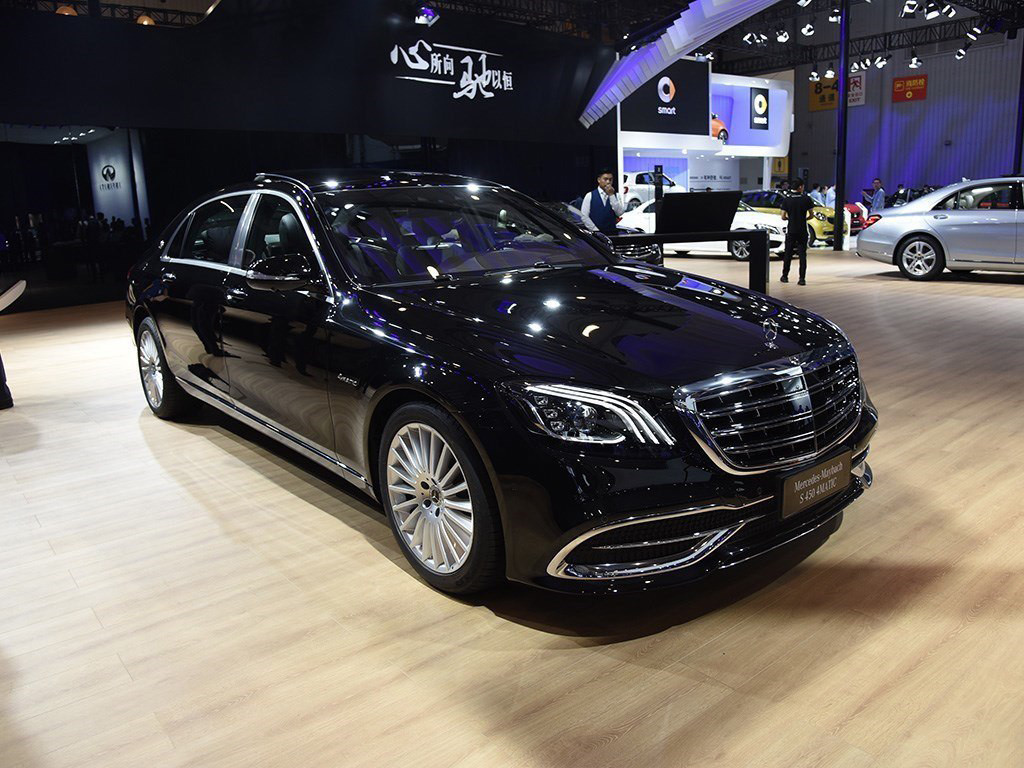 Maybach s560 four wheel drive long axis
