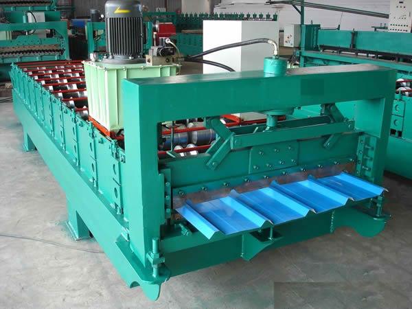 彩钢板生产线