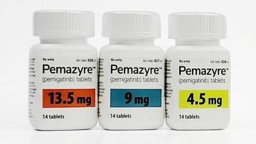胆管癌用药Pemazyre(培米替尼)仿制药价格仅为原研药价格十分之一
