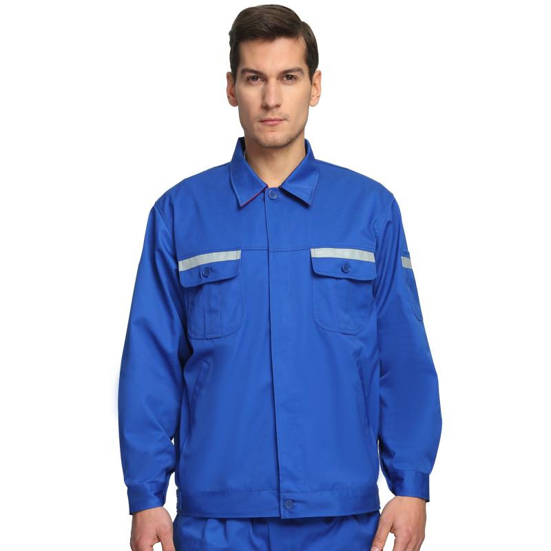 蓝色防静电服套装