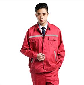 红色阻燃防静电服