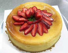 布丁草莓蛋糕