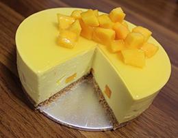 芒果布丁蛋糕