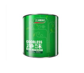 净味内墙漆底漆 白色乳胶漆墙面漆 环保 小桶油漆涂料7kg