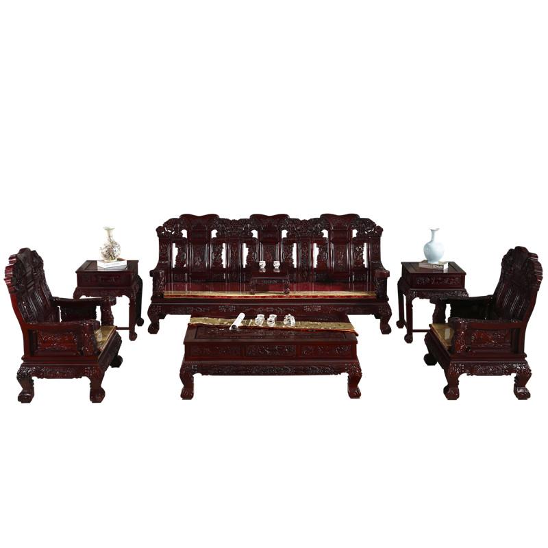 小户型客厅1+2+3沙发整装家具