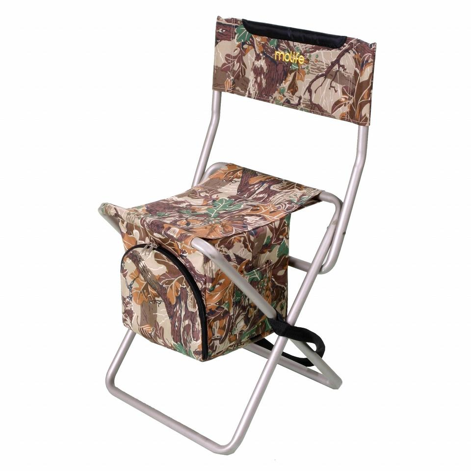 Camping stool with cooler
