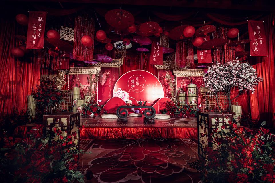 【好嗒婚礼】复古中式主题婚礼定制