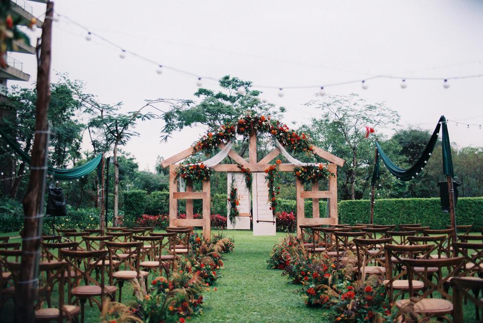 【好嗒婚礼】复古棕户外主题婚礼