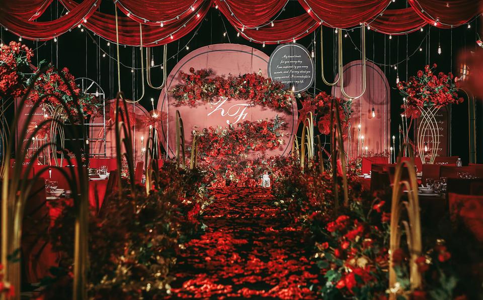 【好嗒婚礼】新中式红色主题婚礼定制