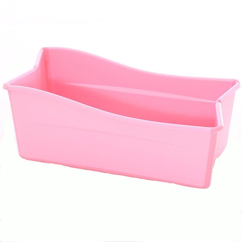 Folded bath bath tub
