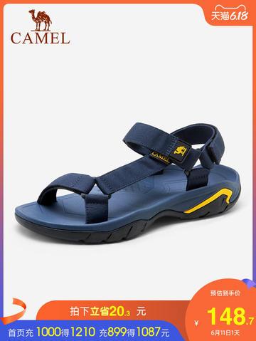 【骆驼服饰旗舰店】男士潮流户外沙滩鞋凉鞋,券后:¥119.72
