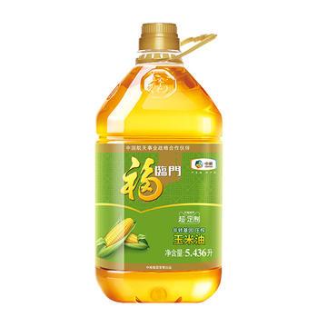 【猫超包邮】福临门非转基因压榨玉米油5.436L,券后:¥61.9