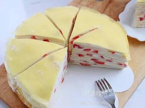 厦门千层蛋糕系列技术培训