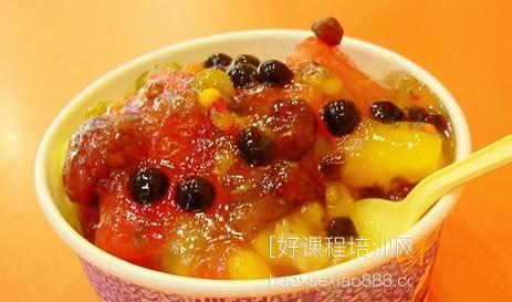 厦门港式水果冰粥系列技术培训