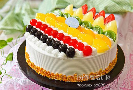 厦门新式整体蛋糕裱花技术培训