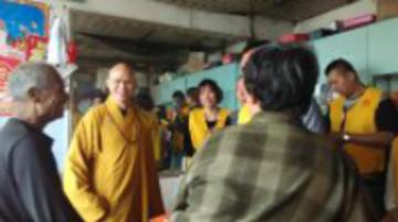 大觉寺慈护功德组第2期慈济活动 救助王恩建 王树江 王树恒三个家庭