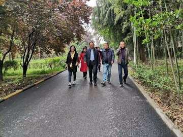 盟省委机关举办健步行活动 范九伦参加活动