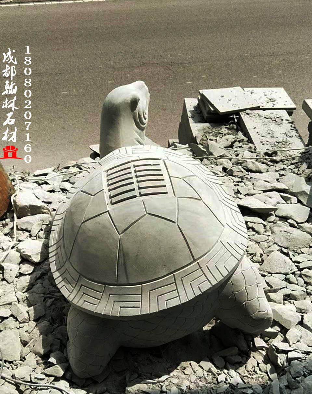 石雕龟四川青石厂