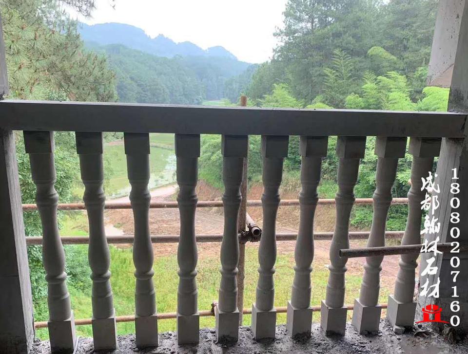 四川廠家青石花瓶柱欄杆